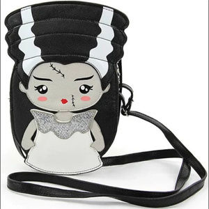 Bride of Frankenstein Handbag Purse Goth Horror